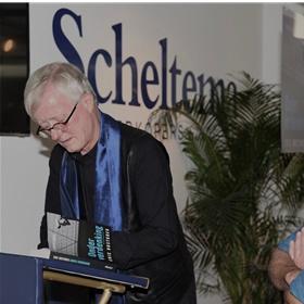 Jan de Boer tijdens de signeersessie.