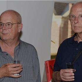Pietjan Meyboom en Peter Rump, editor van vrijwel al het film- en televisiewerk van Oosthoek.