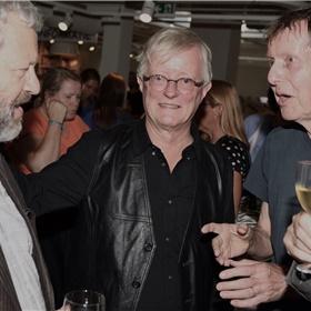 Scenarioschrijvers Hugo Heinen, Carel Donck en Willem Capteyn werkten lange tijd met Oosthoek samen.