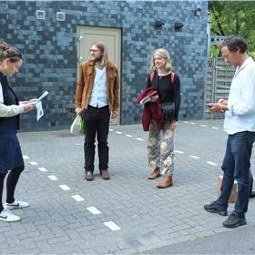 Wat vooraf ging: Emmelie Muijsers, Daan Doesborgh, Eva van Drie en Menno Hartman wachten op de gasten