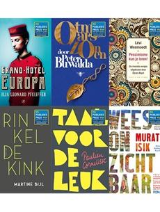 Genomineerden NS Publieksprijs 2019: vier auteurs nog niet eerder genomineerd, voor het eerst ook poëzie