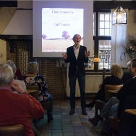Presentator Jaap Heerze