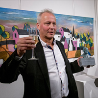 Eerste Dingeldeinprijs voor boekhandelaar Charles Brummelhuis