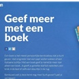 CPNB start 'Geef meer met een boek'
