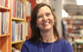 Mireille de Haan boekverkoper Kennemer Boekhandel (Haarlem)