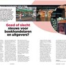 Voorgenomen krachtenbundeling Audax en Bruna: Goed of slecht nieuws voor boekhandelaren en uitgevers?