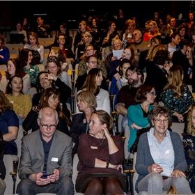 Het Compagnietheater in Amsterdam was goed gevuld