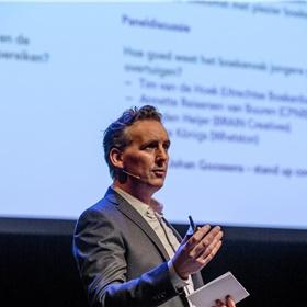 Jurriaan Rammeloo (KVB Boekwerk): '13- tot 34-jarigen lezen 17 minuten per dag'