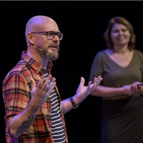 Tim den Heijer en Deborah Bosboom (B.R.A.I.N. Creatives): 'Net zoals je ogen, laat je je brein zich misleiden door illusies'