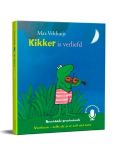 Leopold komt met Inspreekboek 'Kikker is verliefd'