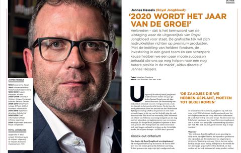 Jannes Hessels (Royal Jongbloed): '2020 wordt het jaar van de groei'