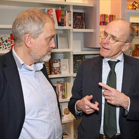 ... en met Wouter van Gils (editor at large, Boom Uitgevers Amsterdam).