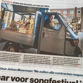 En je komt ermee in de krant: De Kleine Kapitein, Rotterdam