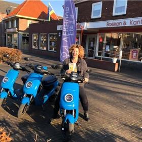 Boekscooters bij Hendriks, Eerbeek