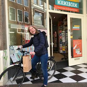 Kiekeboek,  hier komt je boek! Kinderboekwinkel Kiekeboek, Haarlem