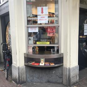 Afhaalluik Athenaeum Nieuwscentrum Amsterdam