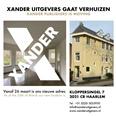 Xander Uitgevers houdt in nieuwe vestigingsplaats goed stand