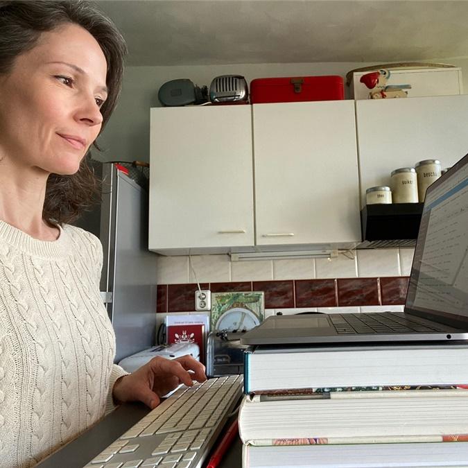 Boekblad was er niet bij: thuiswerkende boekenvakkers