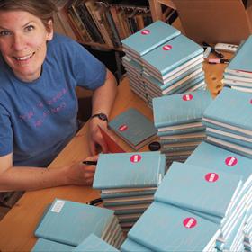 Paulien Cornelisse signeert 3000 boeken