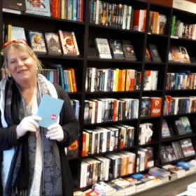 Next stop: Ike Bekking van de Bilthovense boekhandel