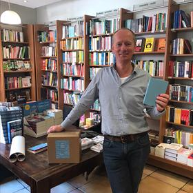 Ook hier is Paulien gearriveerd: Boekhandel Koops, Venlo