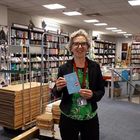 'Net op tijd voor de opening': Broese Boekverkopers, Utrecht