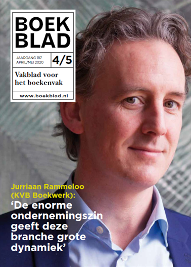Boekblad magazine april/mei 2020
