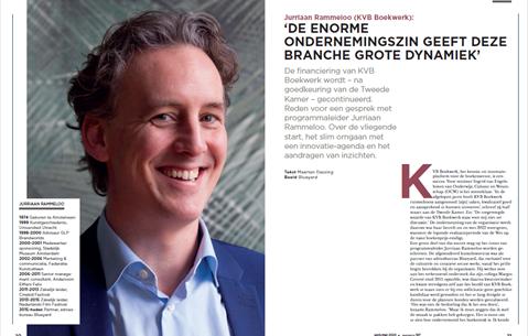 Jurriaan Rammeloo (KVB Boekwerk): 'De enorme ondernemingszin geeft deze branche grote dynamiek'