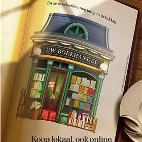 Ook Hebban steunt de lokale boekwinkel.