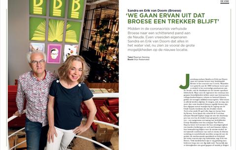 Sandra en Erik van Doorn (Broese): 'We gaan ervan uit dat Broese een trekker blijft'