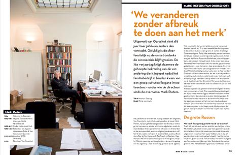 Mark Pieters (Van Oorschot): 'We veranderen zonder afbreuk te doen aan het merk'