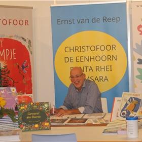 Ernst van de Reep (Christofoor, De Eenhoorn, Panta Rhei en Samsara) behoudt zijn goede humeur