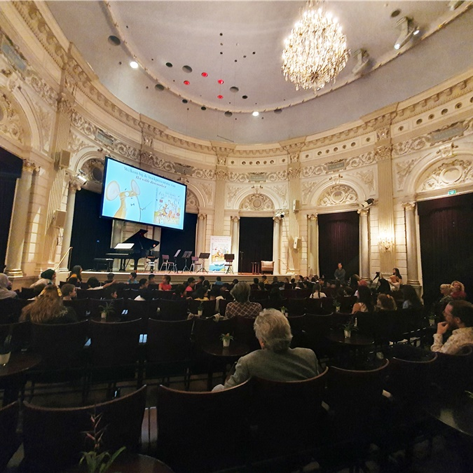 1 september 2020: Presentatie Dan Browns 'Het wilde dierenorkest'
