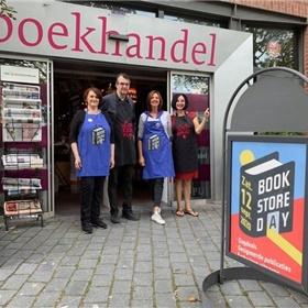 Het team van boekhandel 't Spui