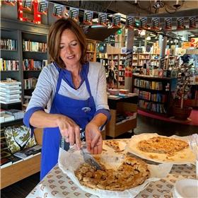 Boekhandel 't Spui, Vlissingen met Agnes' Appeltaart