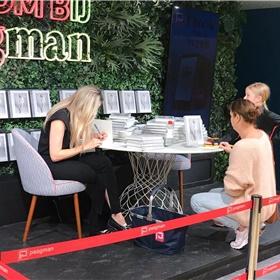 Meet & greet met Lucy Woesthoff bij Paagman (Den Haag)