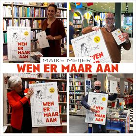 Maike Meijer tournee: honderd boekhandels in zeven dagen 6