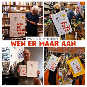 Maike Meijer tournee: honderd boekhandels in zeven dagen 5
