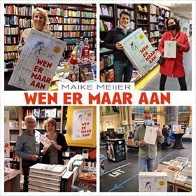Maike Meijer tournee: honderd boekhandels in zeven dagen 13