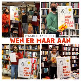 Maike Meijer tournee: honderd boekhandels in zeven dagen 4
