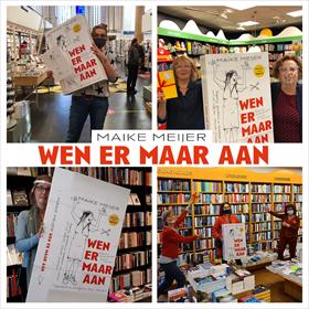 Maike Meijer tournee: honderd boekhandels in zeven dagen 11