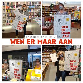 Maike Meijer tournee: honderd boekhandels in zeven dagen 14