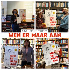 Maike Meijer tournee: honderd boekhandels in zeven dagen 15