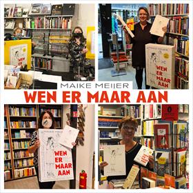 Maike Meijer tournee: honderd boekhandels in zeven dagen 8