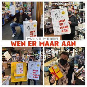 Maike Meijer tournee: honderd boekhandels in zeven dagen 9