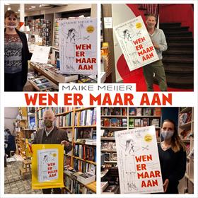 Maike Meijer tournee: honderd boekhandels in zeven dagen 18