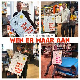Maike Meijer tournee: honderd boekhandels in zeven dagen 16
