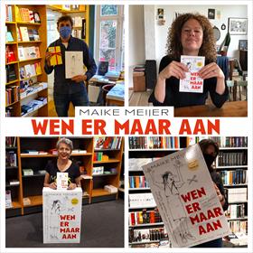 Maike Meijer tournee: honderd boekhandels in zeven dagen 10