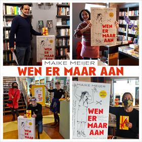 Maike Meijer tournee: honderd boekhandels in zeven dagen 3