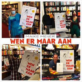 Maike Meijer tournee: honderd boekhandels in zeven dagen 12